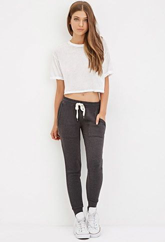 Drawstring Sweatpants | Forever 21 - 2000181270