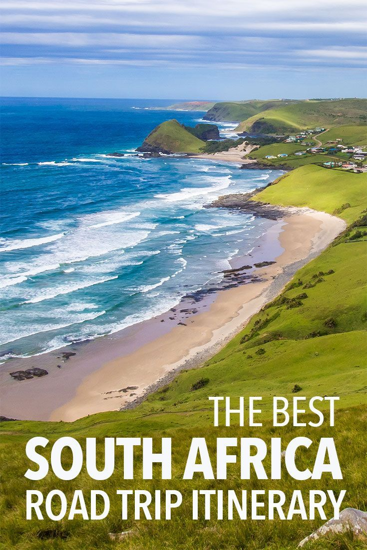 The best South Africa road trip itinerary from Johannesburg to Cape Town in one month via Kruger National Park, Drakensberg Mountains, The Wild Coast and the Garden Route. Click through for the best route, distances, things to do, and where to stay and ea