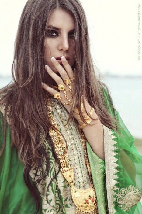 indian inspiration #jewelry #indian #bollywood #style