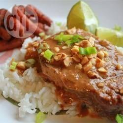 Slow Cooker Thai Satay Pork