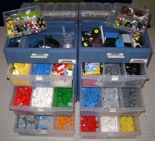 More Lego Storage Ideas