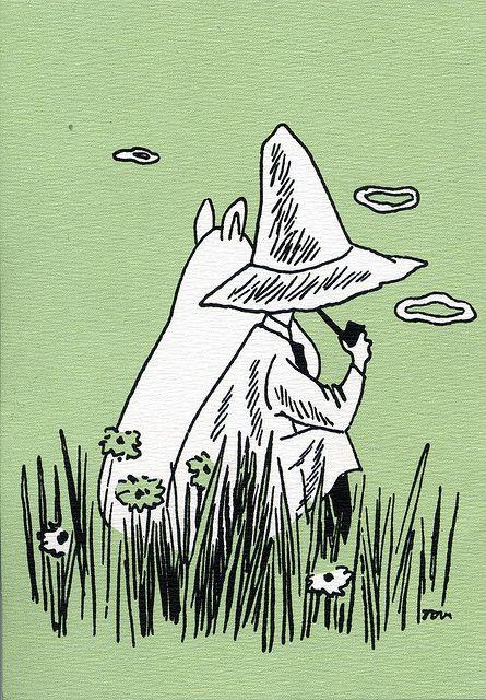 Moomins - green | Flickr - Photo Sharing!