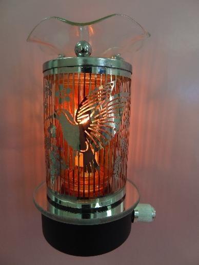Aroma Delights Hummingbird Night Light Plug In Oil Warmer