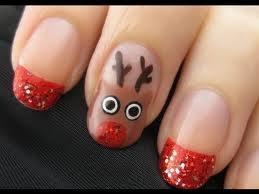 holiday nails | img 3892 holiday reindeer nail art Holiday Reindeer Nail