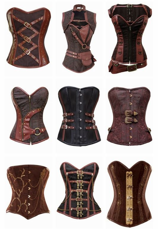 Steampunk Corsets Awesome #Steampunk #SteampunkClothing