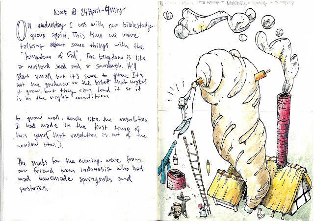 Drawing Diary: Week 18 2013 nr2