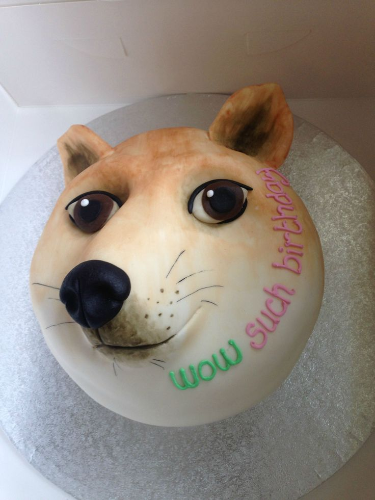 Doge Cake Thinkgeek