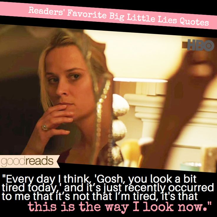 Goodreads Blog Post: Top Seven Big Little Lies Quotes on Goodreads