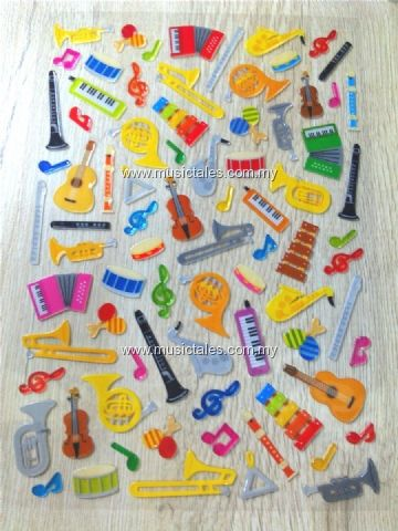 00571 - Orchestra Sticker