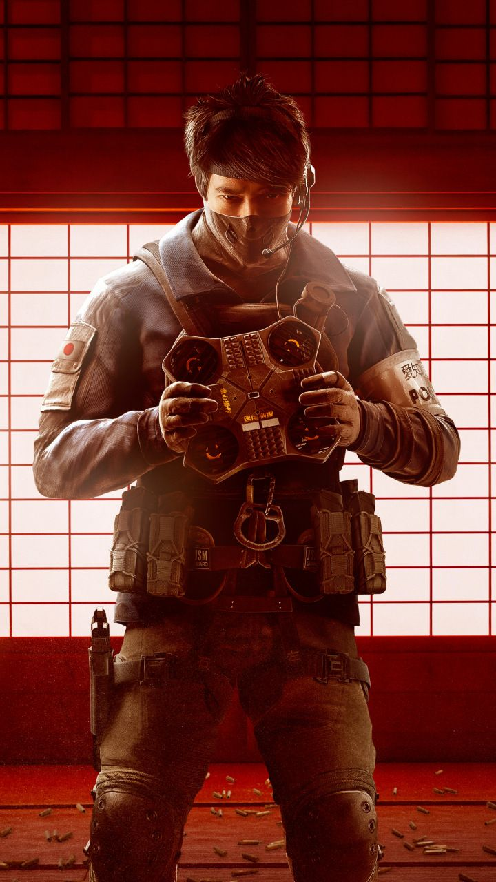 Echo Tom Clancy S Rainbow Six Siege Game Wallpaper Tom