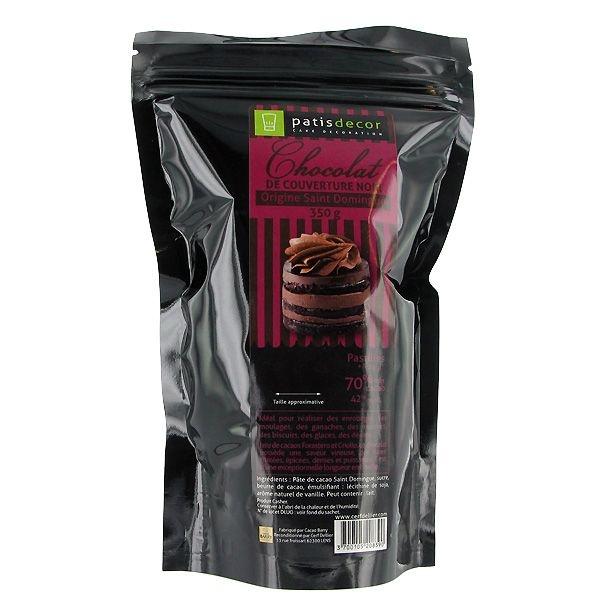 Chocolat Noir origine St Domingue Patisdécor
