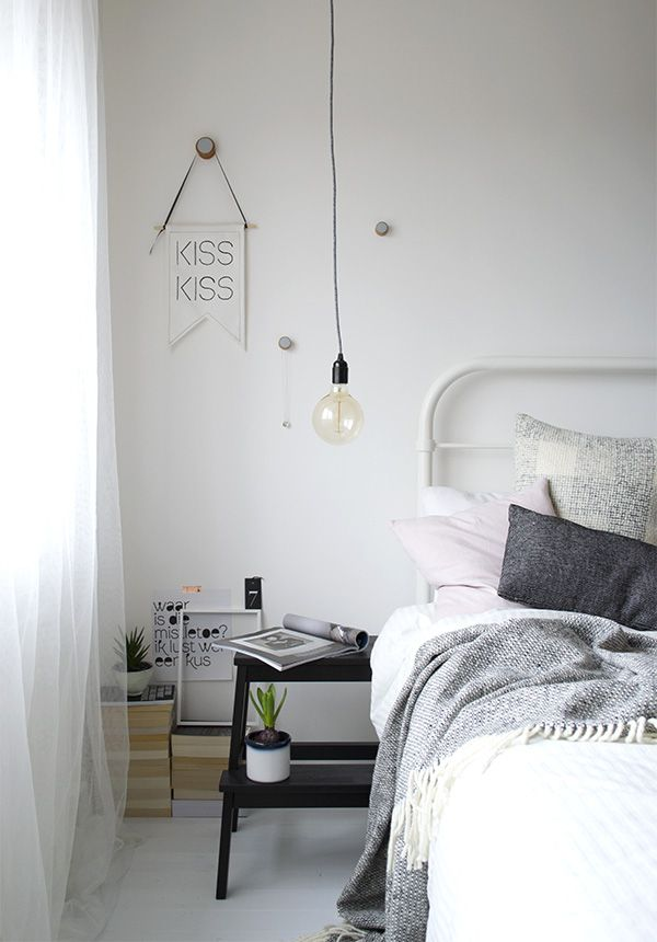 Bright, minimal bedroom styling, Urban Jungle Bloggers | Tiffany Grant-Riley