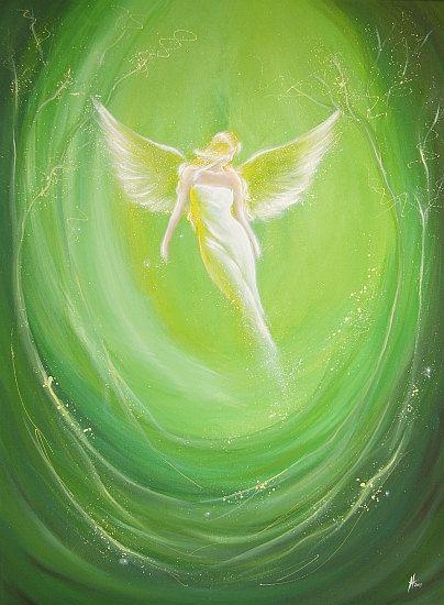 Limited angel art photo feeling angel modern by HenriettesART
