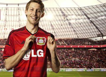 Bayer 04 Leverkusen 2014/15 adidas Home Jersey