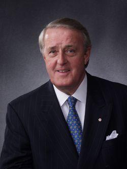 Prime Minister of Canada Brian Mulroney, 1995-96 Speaker