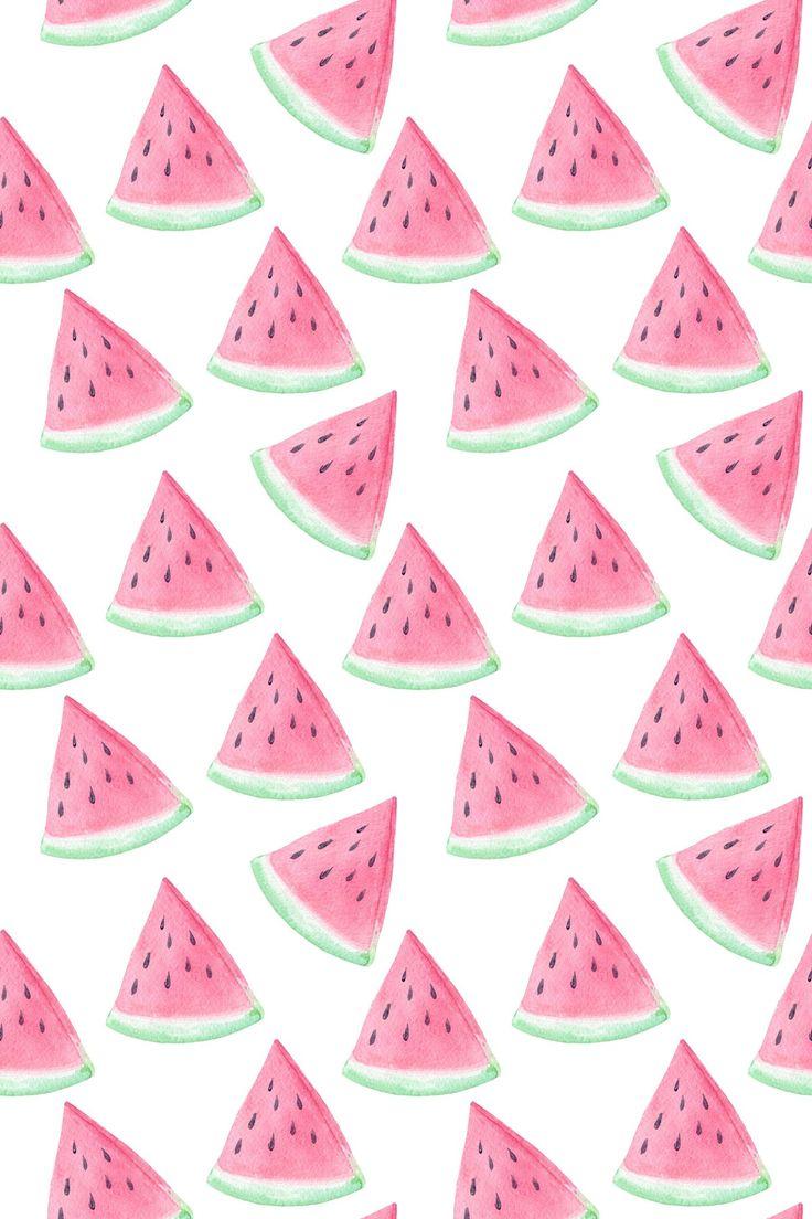 watermelon pattern paper