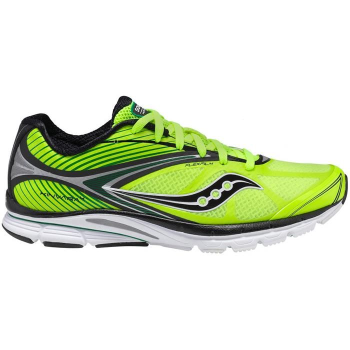 Saucony Kinvara 4 The Saucony Kinvara 4 are one sexy pair of running shoes!  Not only are they nice to look at but they also rate well for pain releif  when ...