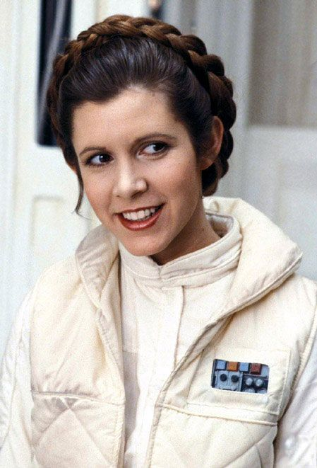 Okay, I'm a Trekkie forever and always, Darth Vader got nothing on Picard, but Princess Leia Skywalker - come on. Of course she's a role model.