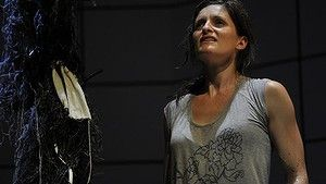 Luisa Hastings-Edge in Swallow at the National Theatre of Parramatta.