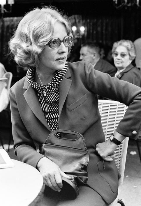 Portrait of Jeanne Moreau by David Hurn, 1968