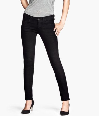 Skinny Low-Rise #Jeans #Pants | HM.com