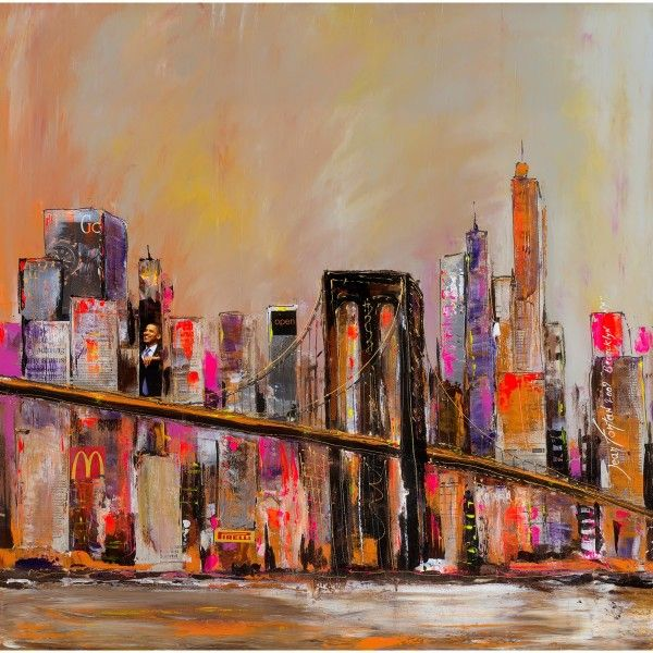 9 best New York images on Pinterest | Paintings, Board and Canvases