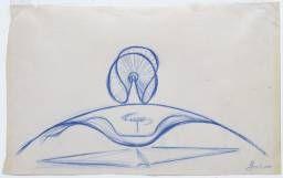 Naum Gabo 'Sketch for 'Spheric Theme'', 1935–7 The Work of Naum Gabo © Nina & Graham Williams/Tate, London 2014