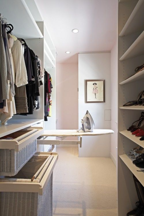 cool idea.  I wish closets had outlets in them.