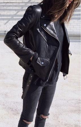 VEDA jacket // Zara linen tee // Cheap Monday jeans. Fashion. Street style.