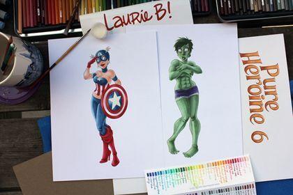 Laurie B es una diseñadora canadiense que ha realizado esta serie de ilustraciones llamada Pure Heroine en la que retrata a todas las heroínas que existen aquí, allá, en el infinito y más allá y a la versión femenina de los superhéroes. PLUS...
