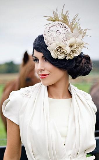 Reny Kestel Millinery - Nexus - Fascinator Hat