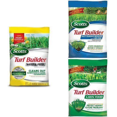 Scotts Large Lawn Fertilizer Bundle