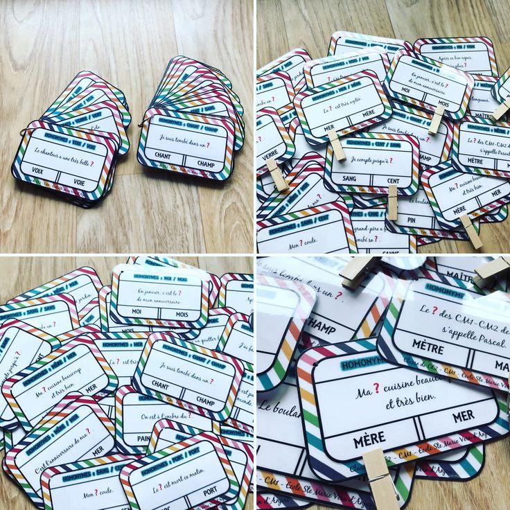 Nouvelles cartes réalisées par mes élèves sur les homonymes... www.crayonscahierssourires.com #vismaviedemaitresse #vismaviedinstit #maviedepe #suppleante #maviedinstit #maviedeprof #maviedemaitresse #instablog #instateacher #affichage #couleur #CrayonsCahiersSourires #teacher #life #instamaitresse #instape #instaprof #teachersfollowteachers #teacherlife #instateachers #teachersofinstagram #teachersofig