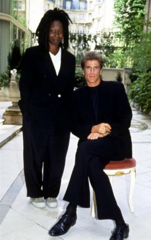 Ted Danson and Whoopi Goldberg 90's