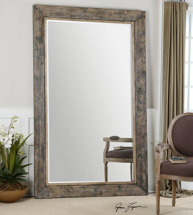 1000 images about crescent club power room mirror on for Leaning wall mirror