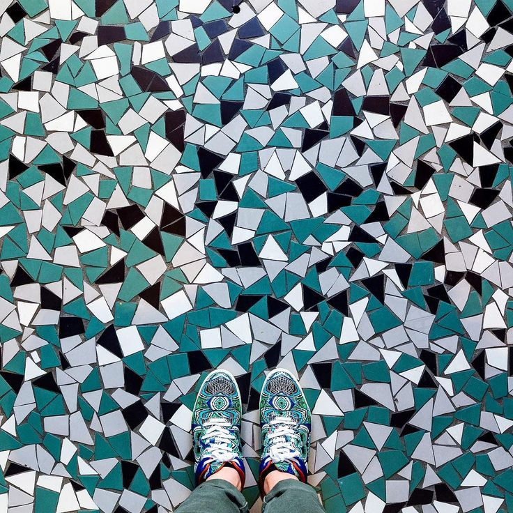 Castelbrac - Dinard  Found this floor yesterday in our hotel (@castelbrac) that used to be the old aquarium of Dinard. Last day of our short Road trip today before we go back to Paris for a few days.  #parisianfloors#ihavethisthingwithfloors#ihavethisthingwithtiles#fromwhereistand#selfeet#tiles#floor#mosaic#dinard#normandy#normandie#design#pattern#interiordesign#architecture#castelbrac#hotel#shoes#sneakers#sneakerhead#etro