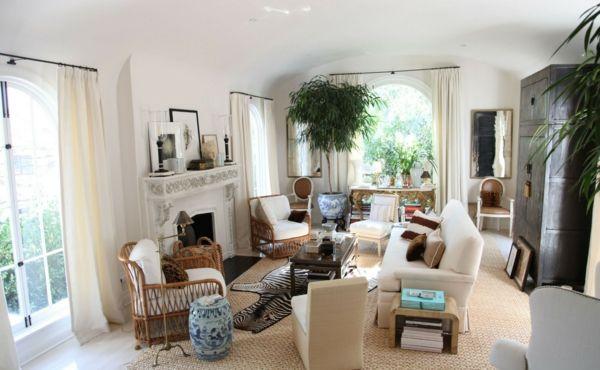 10 wohnideen für eine schicke wohnzimmer einrichtung   schöner ... - Wohnzimmereinrichtung Warm
