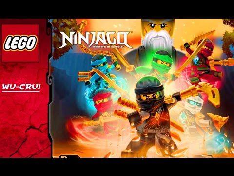 Лего Ниндзя Игра как Мультик для Детей