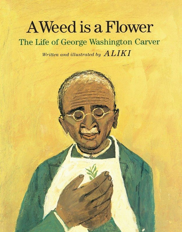 A Weed is a Flower: The Life of George Washington Carver by Aliki.   26 Children's Books That Celebrate Black Heroes