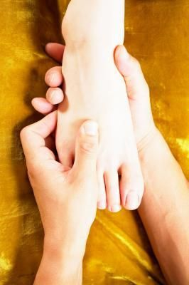 Acupressure Points on the Fingers & Feet