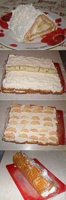 Простейший творожный пирог без выпечки - объедение!