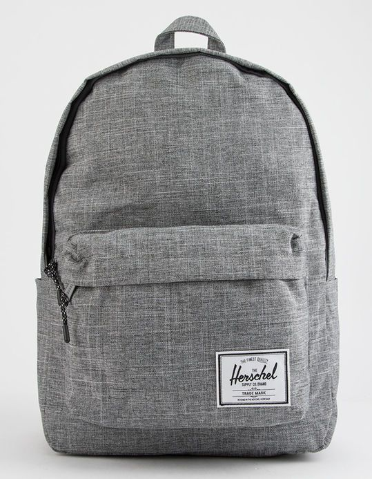 51e2e0c0acaf HERSCHEL SUPPLY CO. Classic XL Raven Crosshatch Backpack