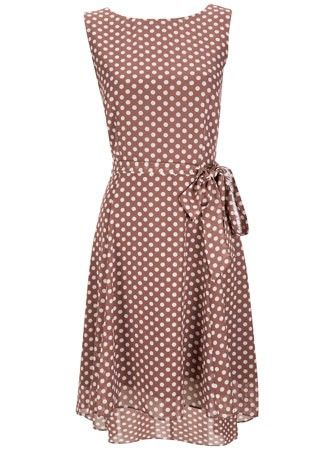 Wallis polka dot dress, 45 - wedding guest dresses - wedding guest outfits