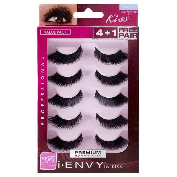 KISS i-ENVY Juicy Volume Multi-Pack (KPEM14)
