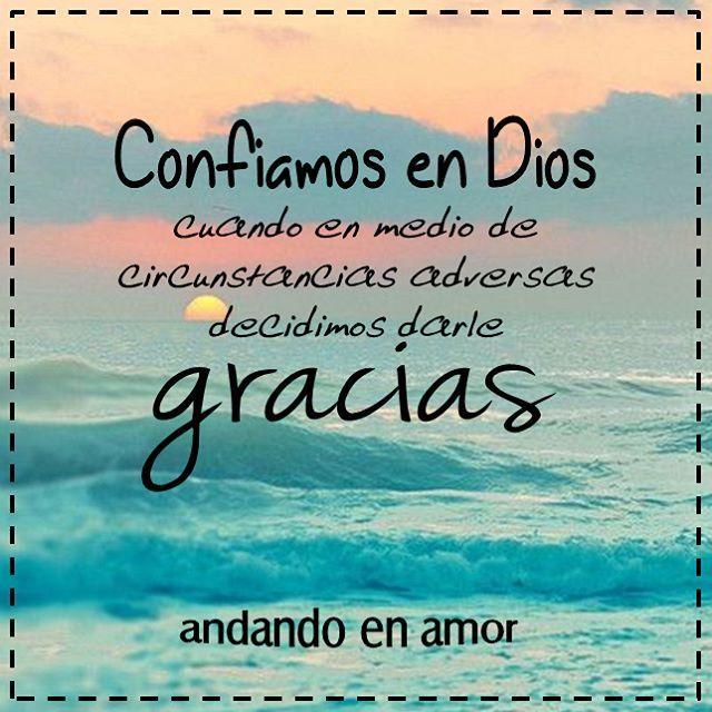 Siempre hay por lo menos una razón por la cual estar #agradecidos a Dios. #gracias #agradecida #GraciasDios #Diosteama #ConfíaEnDios #DiosesBueno #DiosesAmor #DiosEsFiel #DiosesPoderoso #enDiosconfio #Cristianos #Biblia #PalabradeDios #Reflexiones #frases #Consejo #mensajespositivos #creatividad #AndandoEnAmor Feliz tarde! Bendiciones