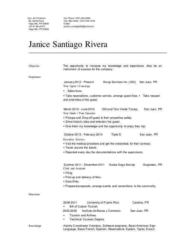 Janice Santiago Profesional Resume Great Janice Santiago Profesional Resume Resumen Profesional Y Laboral Ejemp In 2020 Resume Job Resume Template Education Resume