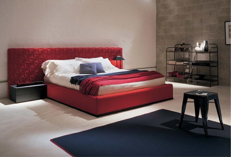 RUNNER bed FRAUFLEX design Antonella Frezza