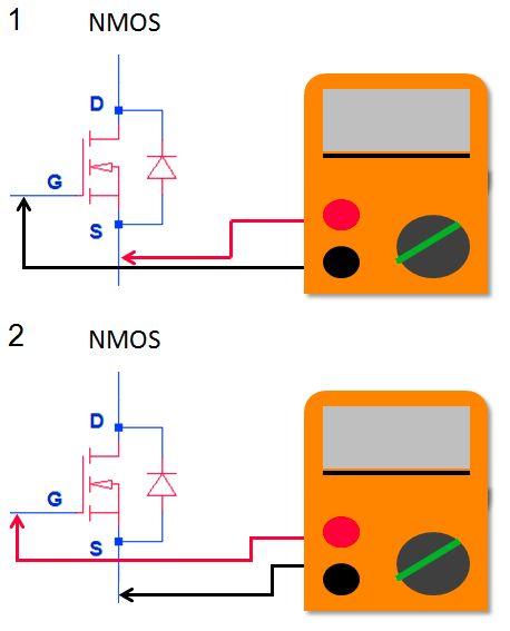 то, как проверить полевой транзистор картинки это
