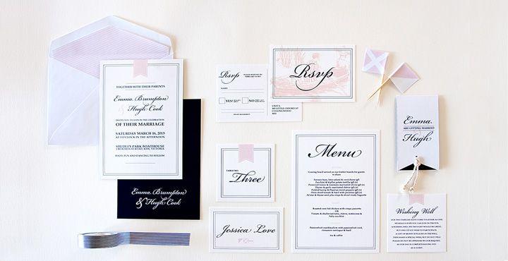 Nautical wedding invitation  boat house /lake house