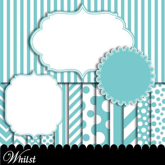 blue frame clip art aqua digital paper baby chevron aqua blue clipart circle frame ornate frame p0176 3s2250 ip